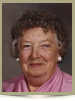 Doris Marion McLeod (nee Judge)