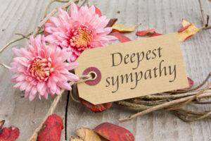 Deepest sympathy flowers