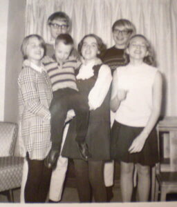 Denis and Doug with Cousins c 1967