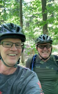 Mark Adam on the trails